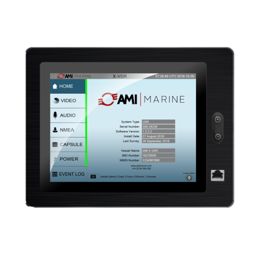 9.7″ Capacitive Touch Screen Display for the X2 VDR/S-VDR