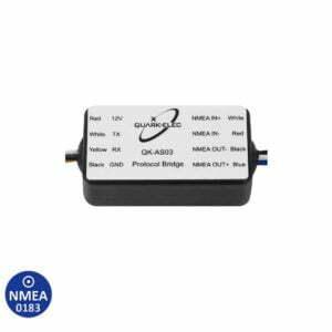 AS03 NMEA 0183 Protocol Bridge 2-way RS232 to RS422 converter