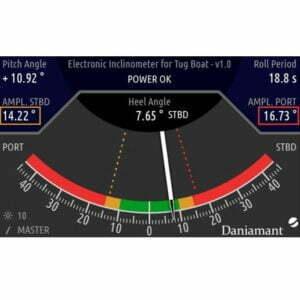 Electronic Inclinometer DanEI-300T Screen
