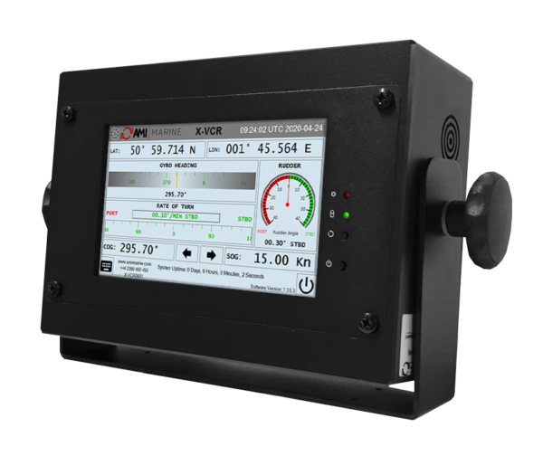 X-VCR NEW Generation Paperless Course Recorder Display from AMI Marine
