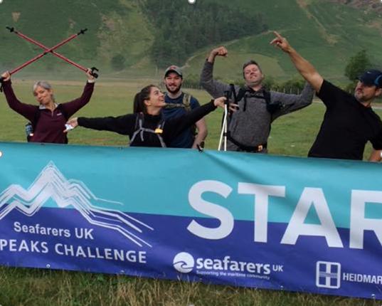 Team AMI Marine Seafarers 24 Peaks Challenge