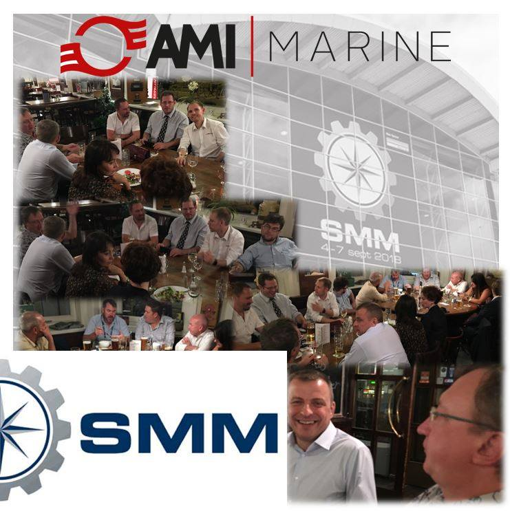 Dinner at SMM with AMI Marine