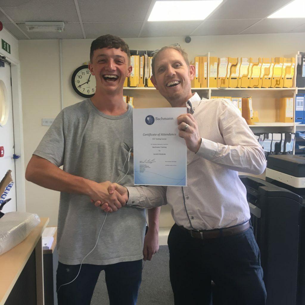 PAT certificate Apprentice AMI Marine