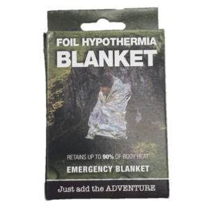 Foil Hypothermia Blanket Square