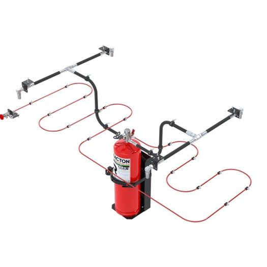 Reacton Indirect Fire Suppression